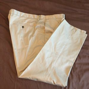 Men's Buttoned Down khaki chino pants 46x30
